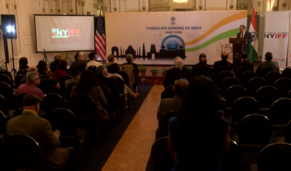The New York Indian Film Festival (NYIFF) launched its 2019 kickoff Event at the Indian Consulate General of India NY