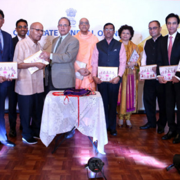 Indian Consulate, NY, Bhavan USA host book release event to felicitate Dr P Jayaraman