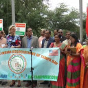 Flag Hoisting Ceremony Of India's Independence Day Celebration Was Organised by FIA Tampa Bay In Florida