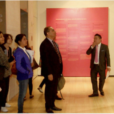 'Progressive Art Group' exhibit opens at Asia Society in NY
