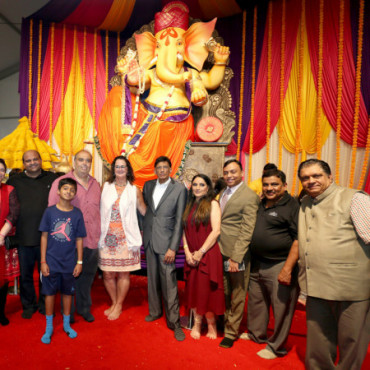 'Ganesh Utsav' draws thousands to Woodbridge, NJ