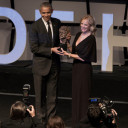 Former President Barrack receives Robert F. Kennedy Human Rights award at New York City gala